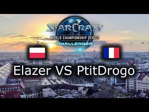 Elazer VS PtitDrogo - WCS Leipzig EU Qualifier - Group Stage - polski komentarz - ZvP