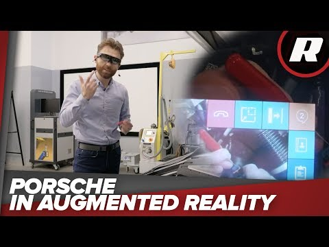 Fixing a car in cyberspace with Porsche
