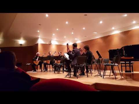 Ensamble Conservatorio Piccinni di Bari:  Uarekena by Sergio Assad