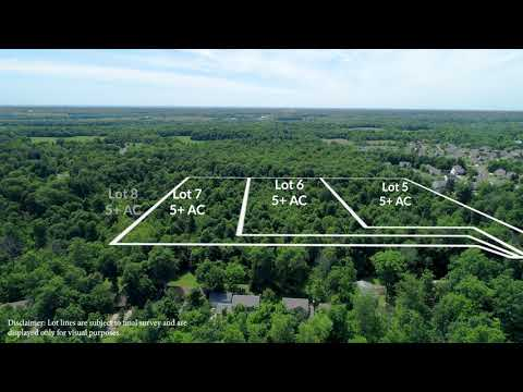 Hazelton-Etna Road Lots for Sale - Pataskala OH - DRONE VIDEO Tour