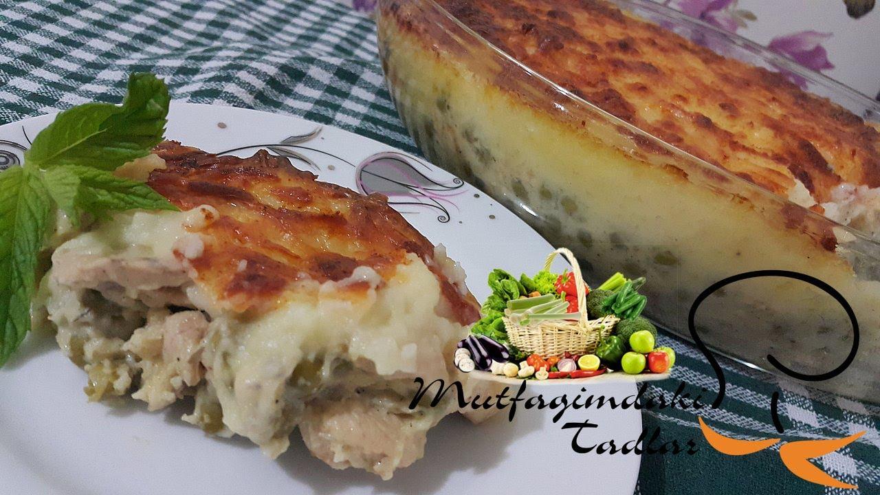 Patates püreli Tavuk Sarma Yapılışı, Patates Tavuk Sarma Nasıl Yapılır