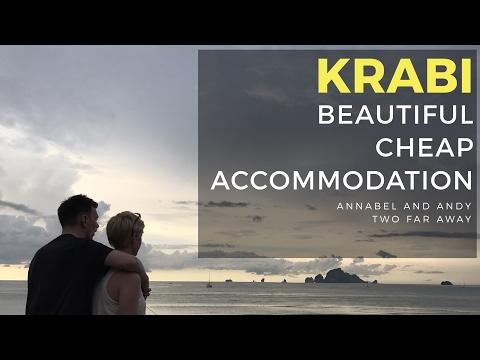 KRABI 2017 - BEAUTIFUL + CHEAP ACCOMMODATION travel Vlog