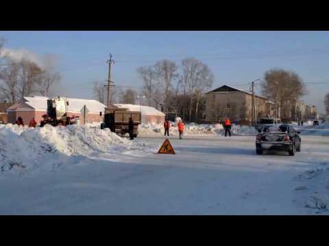 Авария на Кирова в Барабинске