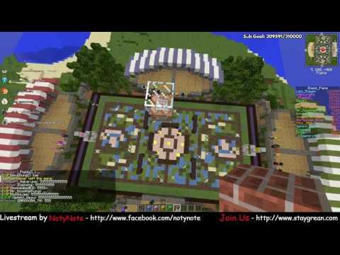 Minecraft - กิจกรรม Mineketball ระหว่างสี! (31/5/2016)
