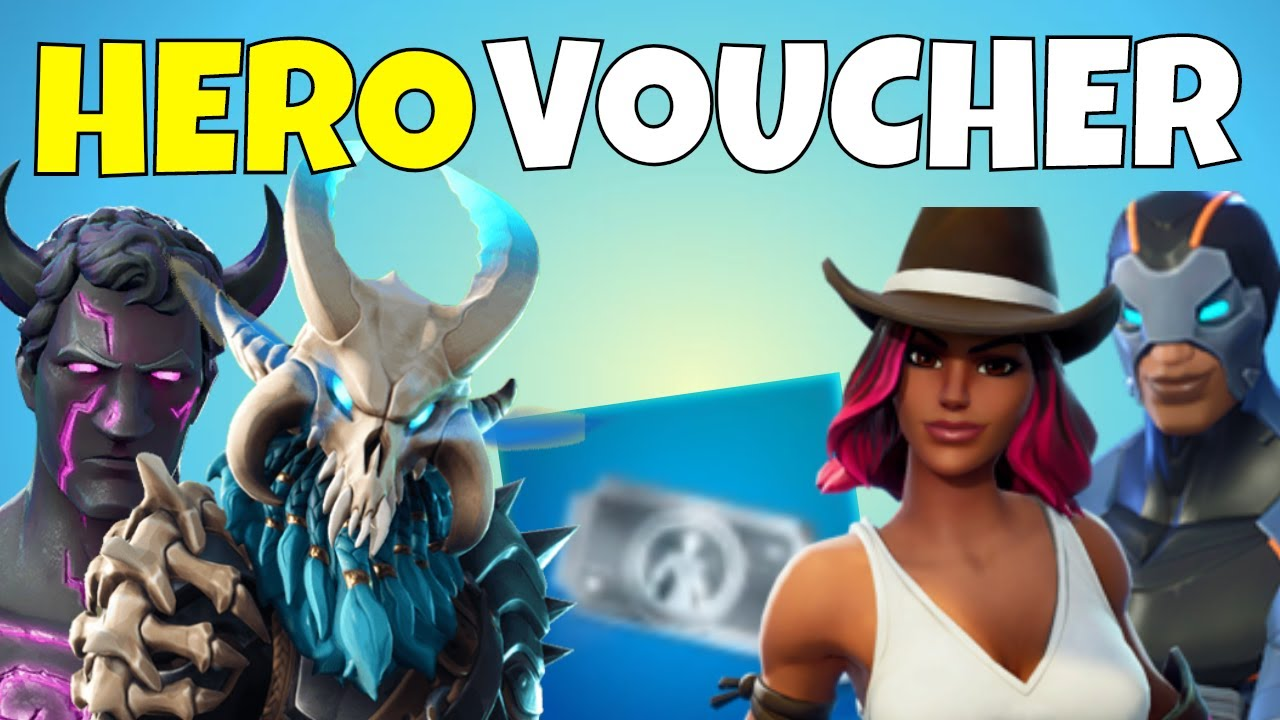 **SPENDING MY HERO VOUCHERS! Collection Book Hero Recruitment Vouchers |  Fortnite Save The World**