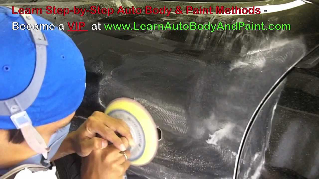 Why Wet Sand Car Paint