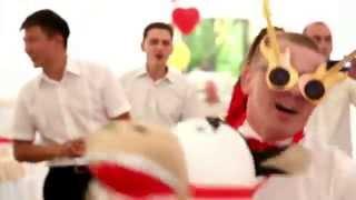 Женечка и Женечка- самые прикольные жених и невеста,свадьба в Усть-Каменогорске