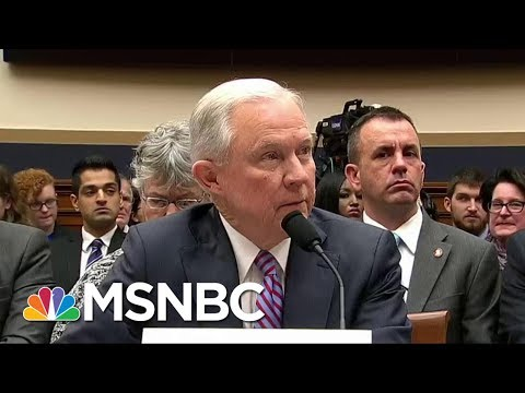 Attorney General Jeff Sessions Does The Right Thing And Pushes Back | Morning Joe | MSNBC