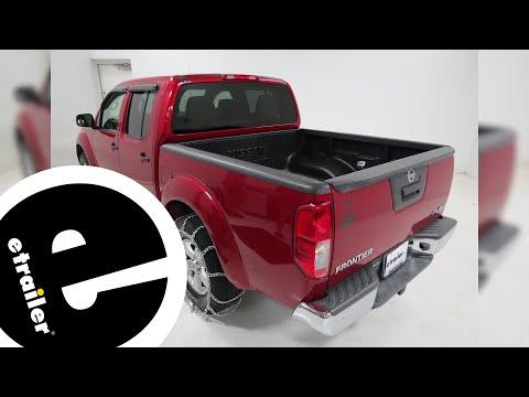 Titan Twist Link Tire Chains Installation - 2013 Nissan Frontier - etrailer.com