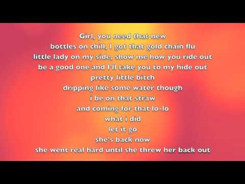KreayShawn - Go Hard (La La La) - ONSCREEN LYRICS