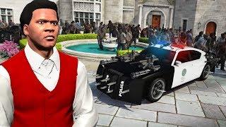 GTA 5 - ESCAPE the ZOMBIE Outbreak as a TRILLIONAIRE!