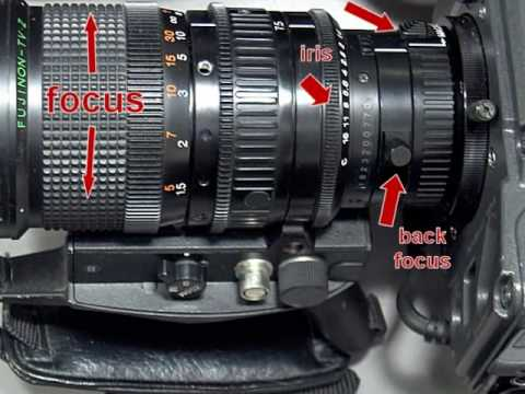 How To Backfocus A Broadcast Camera Lens
