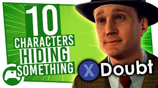 10 Totally Normal Game Characters Who DEFINITELY Aren't Hiding Anything
