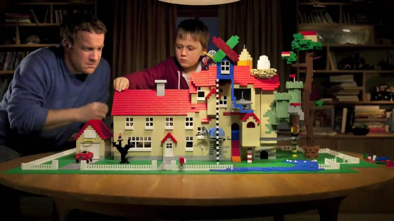 Lego Build Together House Tv Commercial