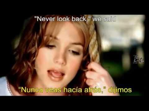Britney Spears - From The Bottom Of My Broken Heart (Español - Ingles )