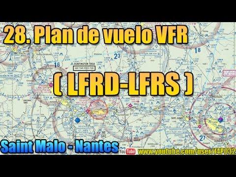 [FSX](28)Plan Vuelo VFR - StMalo-Nantes