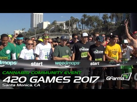 420 Games 2017 in Santa Monica! (Feat. Reggie Williams & Sophie Ryan)