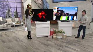 """LG 55""""/65"""" OLED 4K Ultra HD Smart TV with App Pack on QVC"""