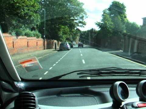 Driving Around Wakefield England