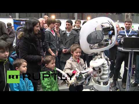 Switzerland: Roboy the humanoid -- real life A.I.