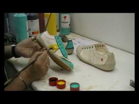 Zapato A Art Pintado Company Mano The 80nNwm