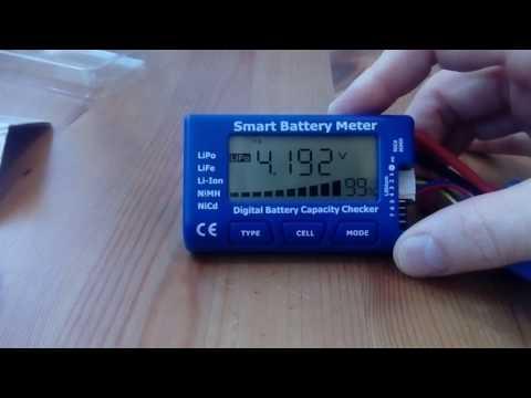 Tenergy 5-in-1 Intelligent Cell Meter Battery Capacity Checker Servo PPM Tester