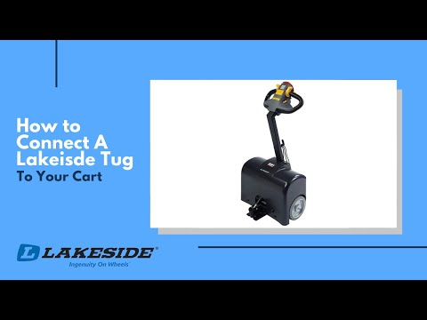 How To Connect A Lakeside Tug To Your Cart