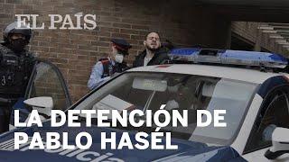 El rapero PABLO HASÉL es DETENIDO