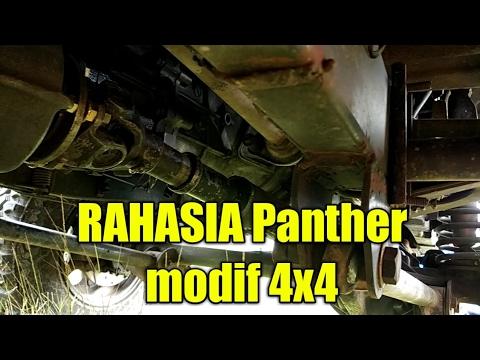 Ini RAHASIA Modif PANTHER Jadi 4WD