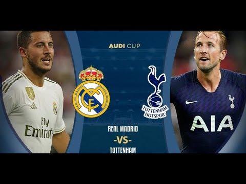 Real Madrid Vs Tottenham Live Stream بث مباشر ريال مدريد ضد توتنهام