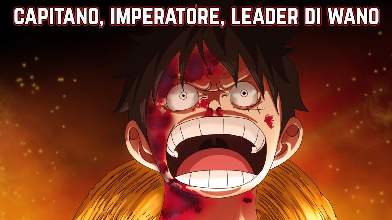 Monkey D Luffy Capitano Imperatore Leader Di Wano One Piece Report Capitolo 949