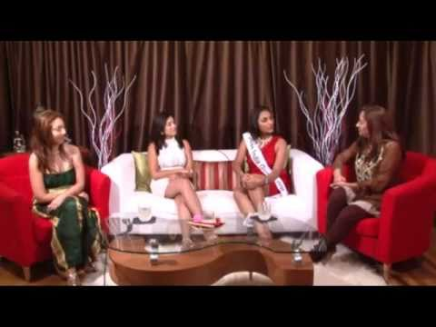 Miss Guyana India Beauty Pageant interview on Let's Talk With Lakshmee