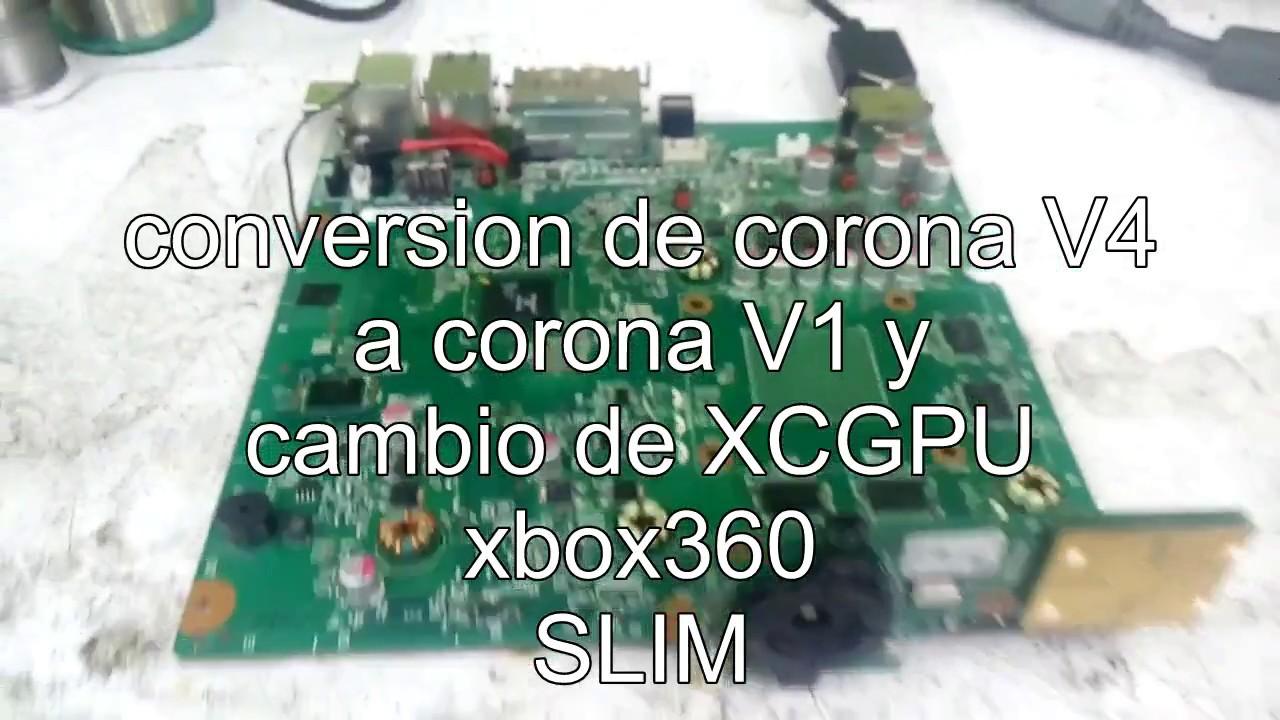 reparacion de XBOX360 SLIM corona V4 pita y no enciende, by Master reballing Mexico.