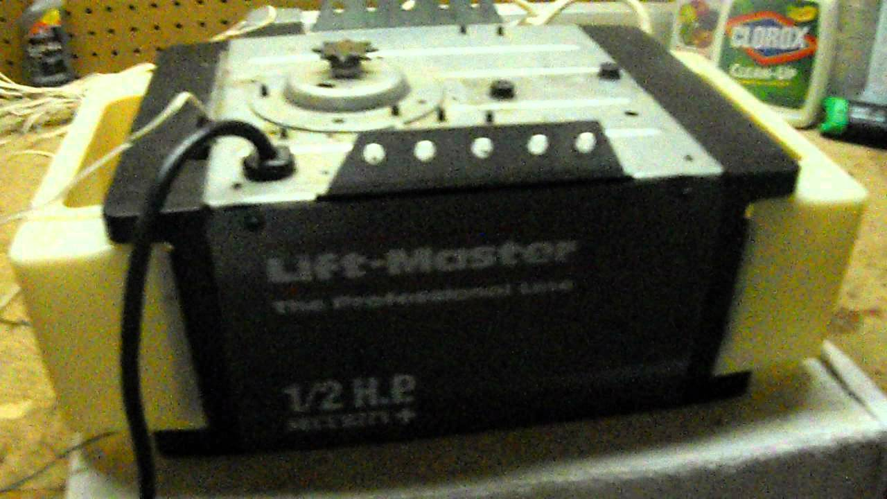 Liftmaster 1265lm Youtube