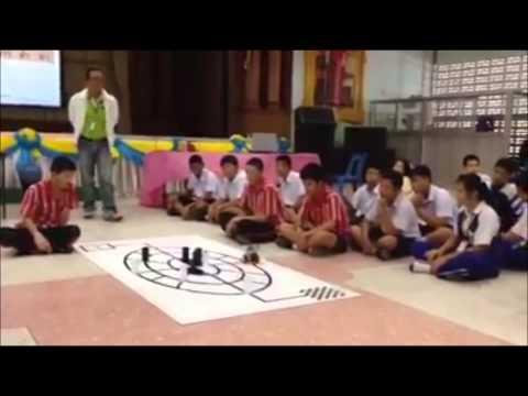 หุ่นยนต์อัตโนมัติ โรงเรียนนครพนมวิทยาคม