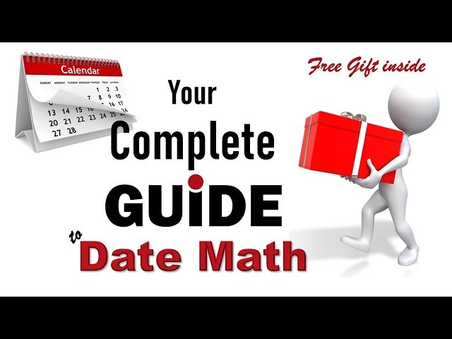 "Your ""One Stop Shop!"" for Date Functions in Excel (+Bonus & Free Gift)"