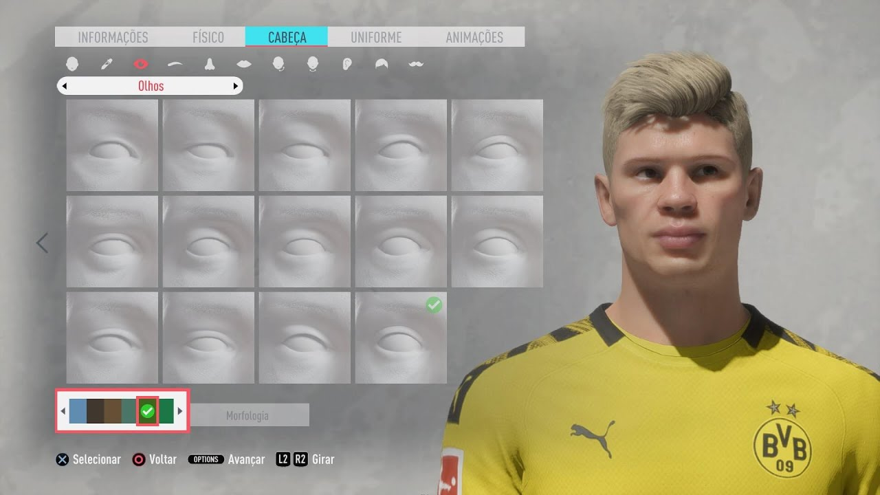 Game Face Erling Haaland Tutorial Fifa20 Pro Clubs Youtube