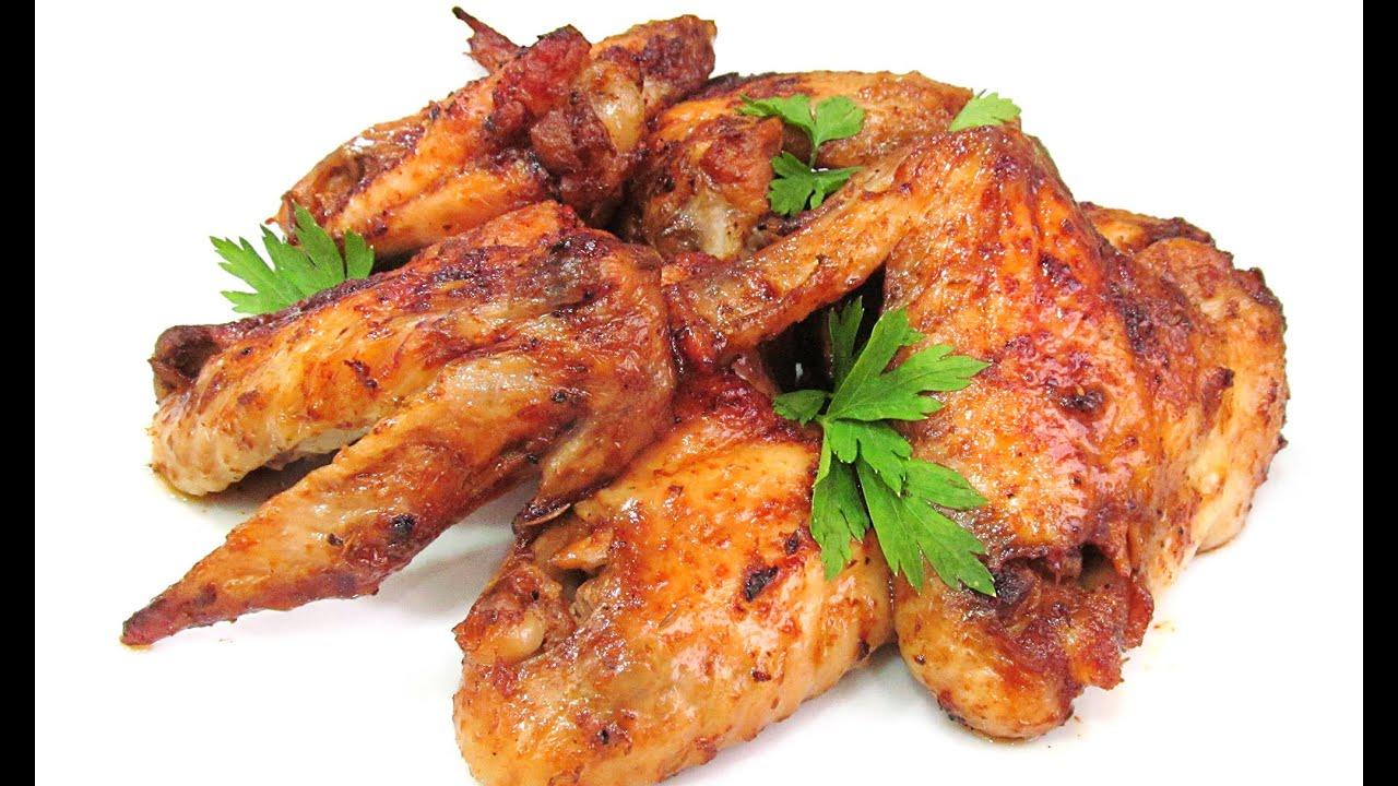 Alitas de pollo al horno youtube - Adobo de alitas de pollo ...
