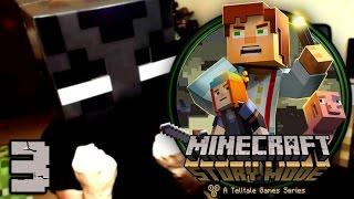 Minecraft Story Mode Episodio 1 - PARTE 3 - PS4 - [LuzuGames]