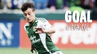 GOAL: Maxi Urruti finishes the Jewsbury cutback | Portland Timbers vs Colorado Rapids