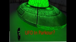 UFO in Parkour? | Roblox Parkour