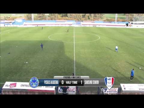 Suwon Samsung Bluewings vs Puskas Akademia