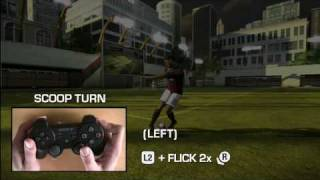 FIFA 09 - PS3 Skill Moves