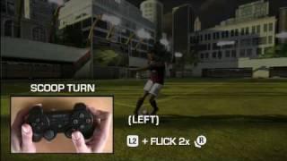 FIFA 09 - PS3 Skill Moves