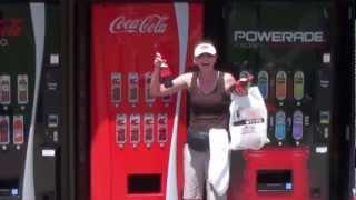 Coca-Cola Happiness Machine at the World of Coca-Cola in Atlanta