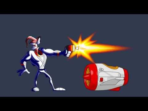 Cancelled Earthworm Jim fangame showreel
