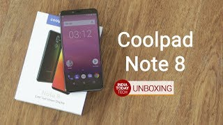 coolpad note 8 unboxing and quick review