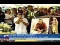 Funeral Diomedes Díaz: Rafael Santos despidió a su padre / CABLENOTICIAS