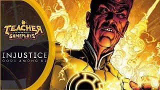 SINESTRO, O LANTERNA QUE REPRESENTA O MEDO | Injustice: Gods Among Us | PC Gameplay