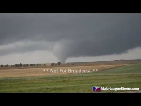 Large Tornado Near Jamestown, KS on 5-6-15